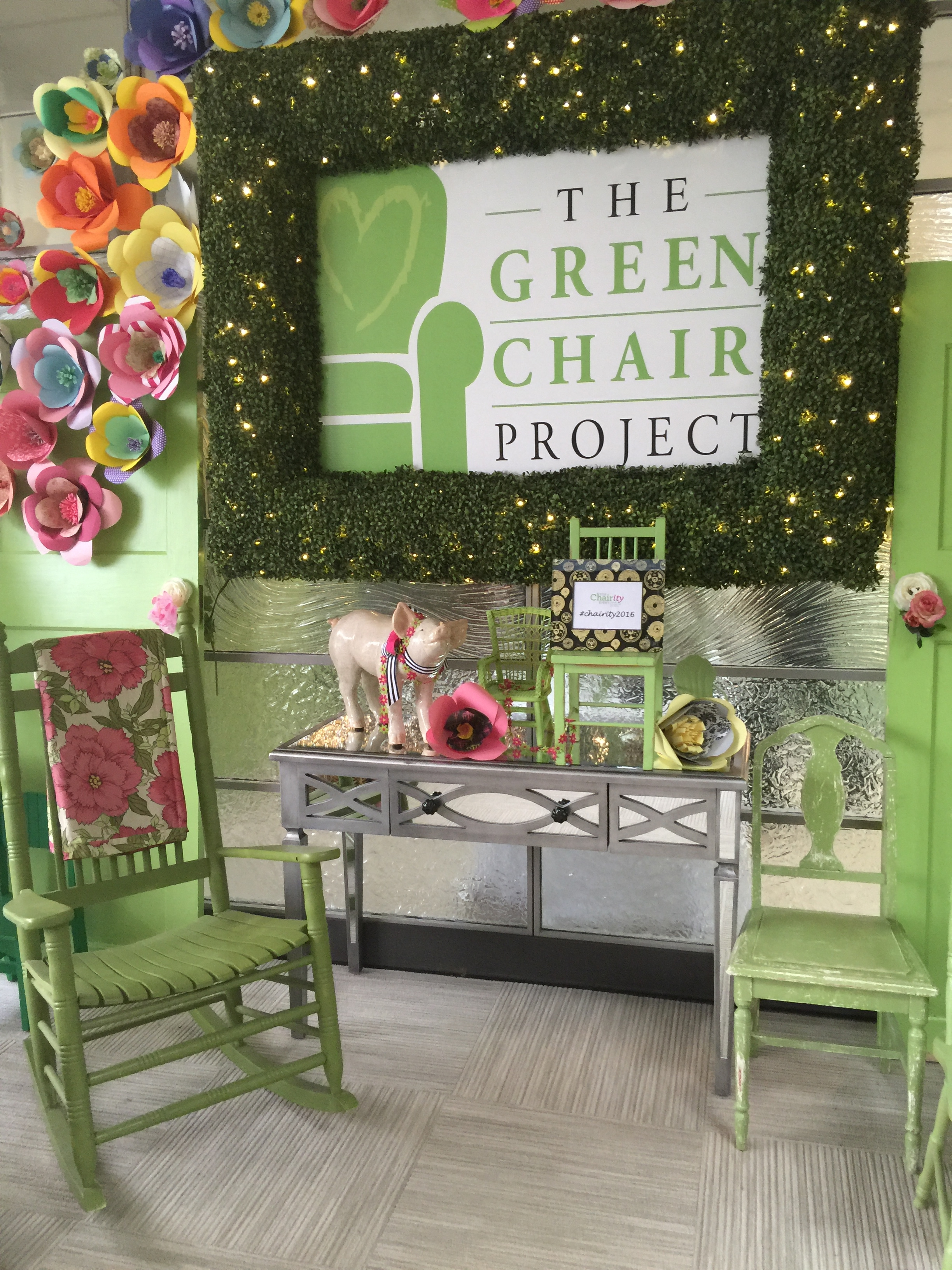 The Green Chair Project Catering Works